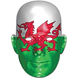 Wales Welsh Dragon Flag Face Mask (máscara/ careta)