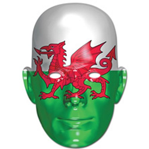 Wales Welsh Dragon Flag Face Mask (máscara/careta)