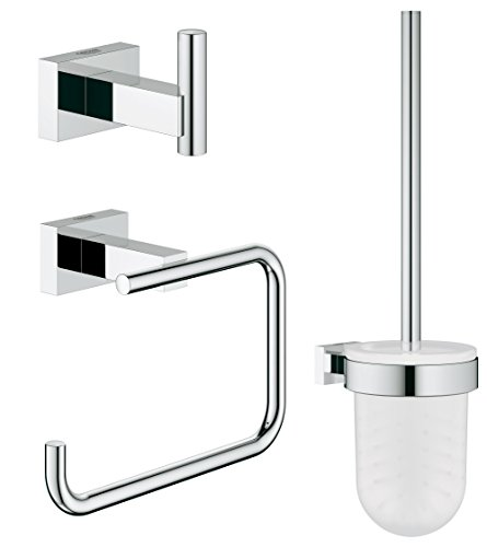 GROHE Essentials Cube | Badaccessoires - WC-Set 3-in-1 | 40757001
