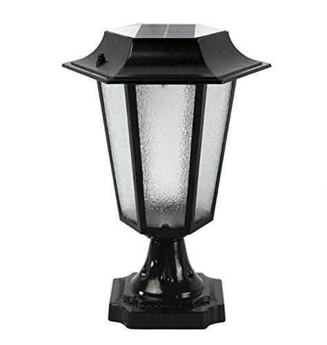 1-licht-acryl-diffusor (HHORD Solar kleine sechseckige Wand Lampe Solar Rasen Wand Lampe LED wasserdichte Gartentür Outdoor Garten Lichter , 1)