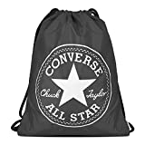 Converse Unisex Turnbeutel Cinch Bag Charcoal (grau)