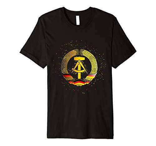 DDR Ostalgie - DDR Wappen Funky Style T-shirt -