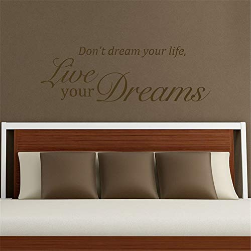 wandaufkleber baby junge Träume nicht dein Leben lebe deine Träume für Schlafzimmer