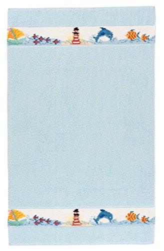 Feiler marina00100502 Kinderhandtuch Marina Größe 50 x 80 cm, hellblau (Dusche Aufheller)