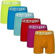 Natural Feelings Mens Boxer Shorts Soft Cotton Men Pack Breathable Mens Underwear Boxer Briefs