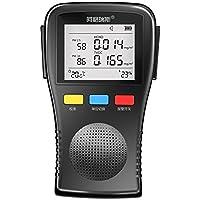 Tester detector temperatura humedad interior hogar formaldehído detección detector detector de calidad de aire PM2,5