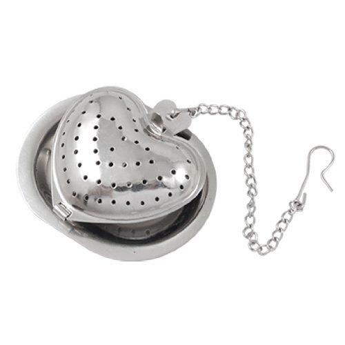 TOOGOO (R) Setaccio infusore te' sfera rete in acciaio inox a forma di cuore