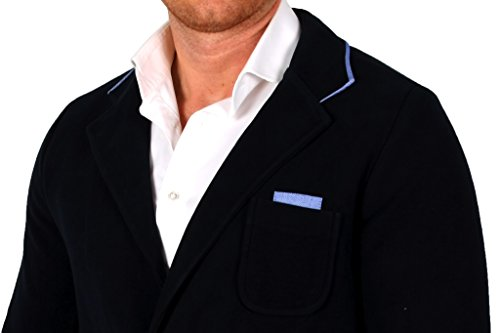 Negro -  Blazer  - Camicia - Uomo Blu scuro