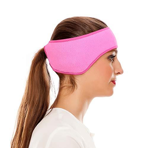 Oscenny Walkstirnband mit Strass Stirnband Headband Stirnwärmer Ohrenschutz Ohrenwärmer für Damen...