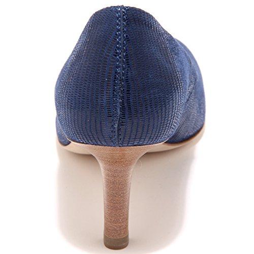 85887 blu decollete TOD'S CUOIO T 65 QU scarpa donna shoes women Blu