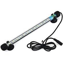 6W Lampada Plafoniera Acquario Impermeabile 12 LED Luce Bianca Casa Decorazione
