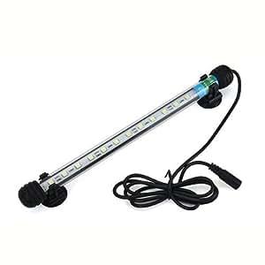 Dcolor6W Lampe Plafonnier pour Aquarium Impermeable 12 LED Lumiere Blanche Decoration de la maison