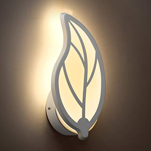 Lampada, awebb lampada da parete a led, applique moderna per corridoio, scala e camera da letto (9w di luce)