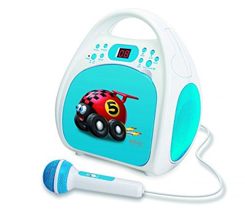 Silva Schneider Junior One blau Kinder Stereo Radio Lautsprecher LCD blau