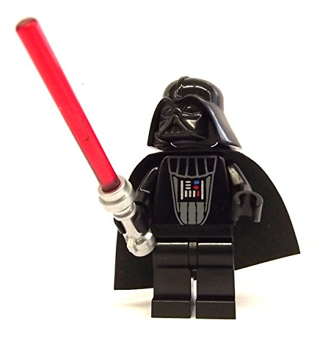 LEGO Star Wars - Figure of Darth Vader (imperial inspection) with laser sword