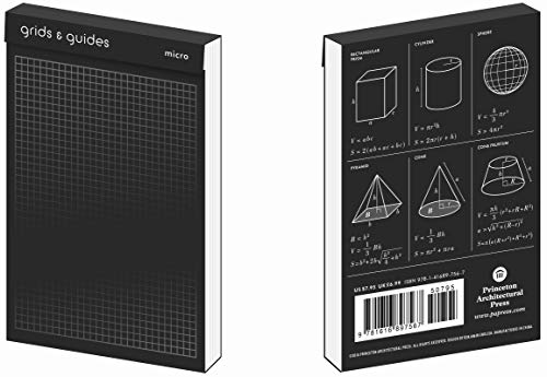 Grids & Guides (Micro Black): A Pocket Size Notebook - Micro Guide