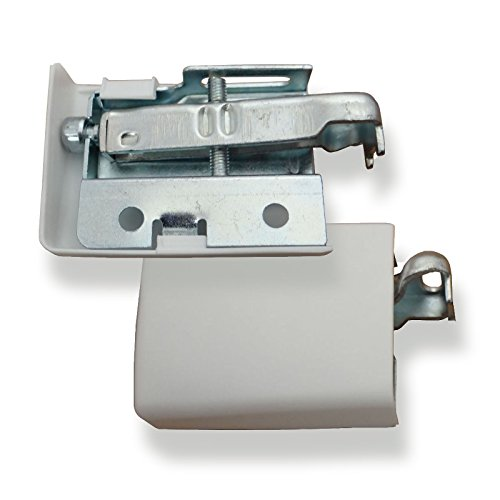 1 Paar SO-TECH® Schrankaufhänger STRONG verstellbar Aufhänger f. Hängeschrank bis 180 Kg Schrankaufhängung Halter