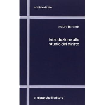 Introduzione Allo Studio Del Diritto