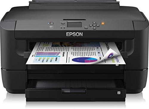 Epson WorkForce WF-7110DTW Tintenstrahldrucker (A3 Duplex, LAN, WLAN) schwarz