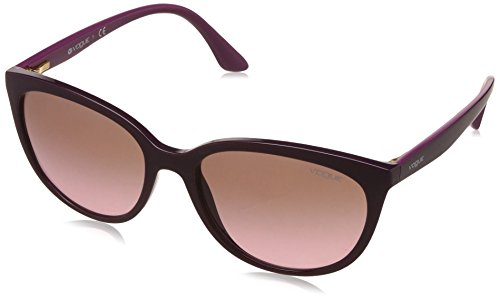 Vogue Gradient Cat Eye Women's Sunglasses - (0VO5118SI24721457|57|Pink Gradient Brown Color) image