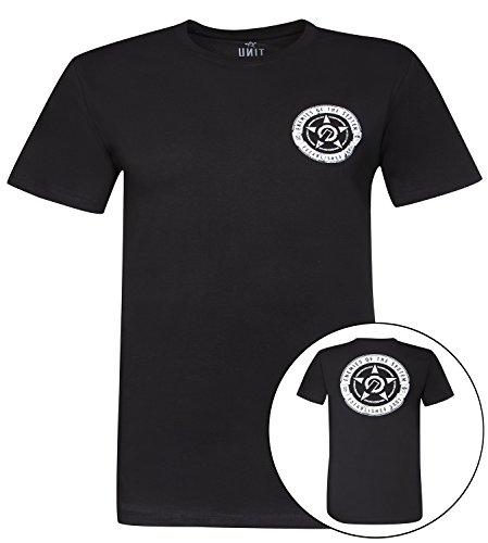 Unit T-Shirt Movement Schwarz Schwarz
