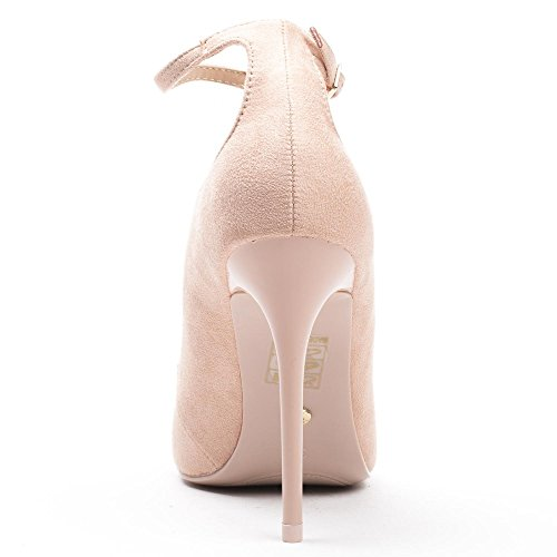 Ideal Shoes ,  Scarpe col tacco donna Beige