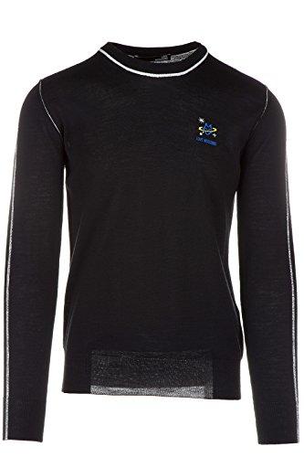 Love Moschino maglione maglia uomo girocollo nero EU M (UK 38) M S 6U2 01 X 0046 40