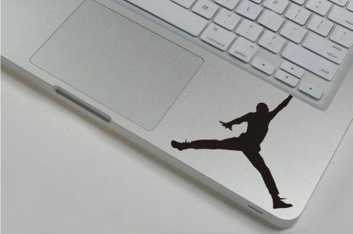 Keypad - Jumping basketball player Macbook Symbol Keypad Iphone Apple Ipad Decal Skin Sticker Laptop, Decal Sticker Vinyl Car Home Truck Window Laptop ca. 20cm Aufkleber Autoaufkleber Wandtattoo
