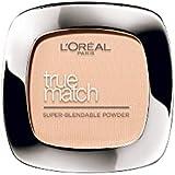 L'Oreal Paris True Match Super Blendable Powder, Caramel Beige W7, 9g