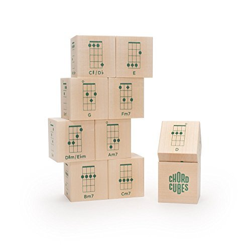 Uncle Goose Chord Cubes Ukulele Blocks - Made in USA by Uncle Goose