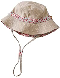 La Vogue Chapeau De Soleil Bob Enfant Fille Pêche Coton Cordon Printemps  Eté Voyage Plage 9d438b74024