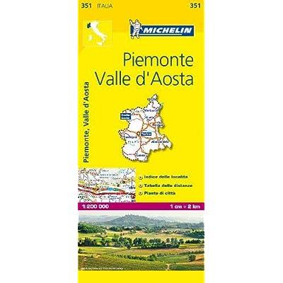 Piemonte E Valle D'aosta 1:200.000