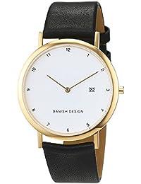 Danish Design Unisex-Armbanduhr IQ10Q881 Analog Quarz Leder IQ10Q881