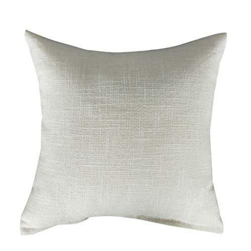 Precioul Kissenbezüge Kissenhülle Wurfkissenbezüge Schalen für Heim-Sofa-Couch Modern Kontrast Quatrefoil Akzent Geometrisch Leinenkissen + Kissenkern 45CM -