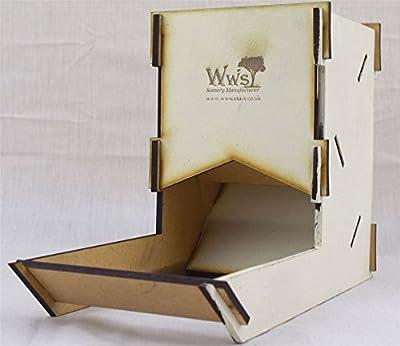 Dice Tower par WWS en blanc