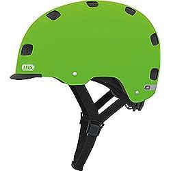 ABUS Scraper v.2 - Casco urbano para bicicleta, color verde, M (52-58 cms)
