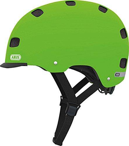 Abus Erwachsene Fahrradhelm Scraper v.2, green, 52-58 cm, 12646-8