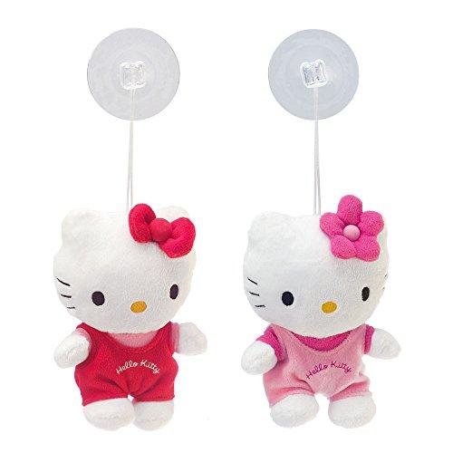 Preisvergleich Produktbild 2 Stück Hello Kitty 21593 - Plüsch Sauger 15 cm