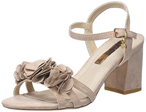 XTI 30714, Sandali con Cinturino alla Caviglia Donna, Rosa (Nude), 39 EU