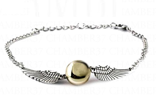 Harry Potter Armband Armbänder Armschmuck Handschmuck Flügeln Glocken Glöckchen antik bronze fanartikel Heiligertürmer des Todes Neuheit