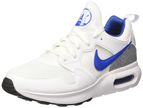 Nike Air Max Prime, Scarpe da Ginnastica Uomo Bianco (White/Intl Blue/Wolf Grey/Black)