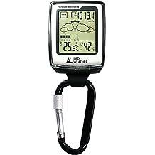 [Lad Weather] Bussole/American Sensor /Altimetro/Barometro/Bussola digitale/Previsioni meteo/ Igrometro/Termometro Arrampicata/Corsa/Escursioni/Attività all'aperto/Sport/Orologio con moschettone