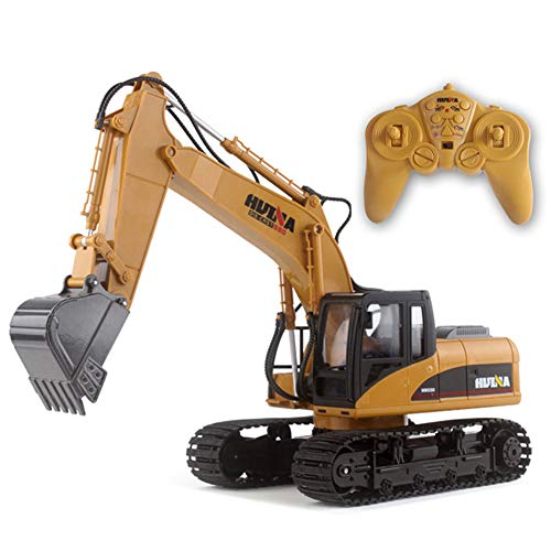 SOSAWEI 15 Channel Full Functional Professional RC Excavator,2.4G Crawler Full-Funktion-Fabote-Steuerung Alloy Excavator Truck Toy.