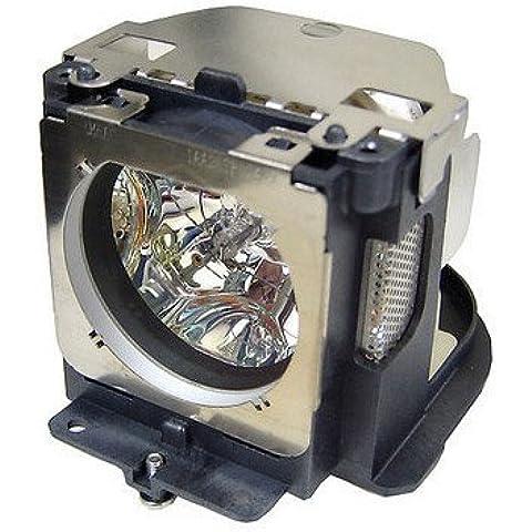Lámpara de proyector bombilla POA-LMP111LMP111lámpara para Sanyo PLC-XU101PLC-WXU30, PLC-WXU3ST, PLC-XU105Proyector Bombilla Lámpara de proyector con carcasa
