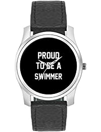 BigOwl Proud To Be A Swimmer Best Gift For SWIMMER Fashion Watches For Girls - Awesome Gift For Daughter/Sister...