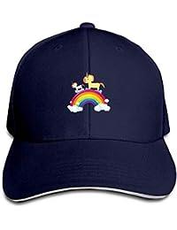 Jxrodekz Rainbow Pegasus Cap Unisex Low Profile Baseball Hat WF6825
