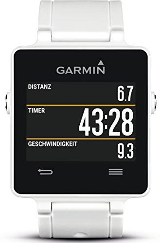 Garmin vivoactive Sport GPS-Smartwatch - 3 Wochen Batterielaufzeit, Sport Apps (Laufen, Radfahren, Schwimmen, Golfen) -