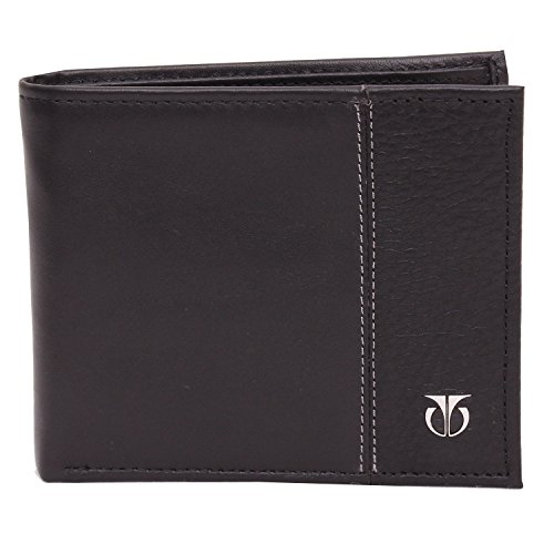 Titan Original Black Men's Leather Wallet with Byfold strip (TW111LM1BK)