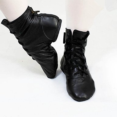 Wuyulunbi @ Jazz Boot Plat Plat Pratique Talon Plat Noir, Noir, Us5 / Eu35 / Uk3 / Cn34 Us12.5 / Eu45 / Uk10.5 / Cn47