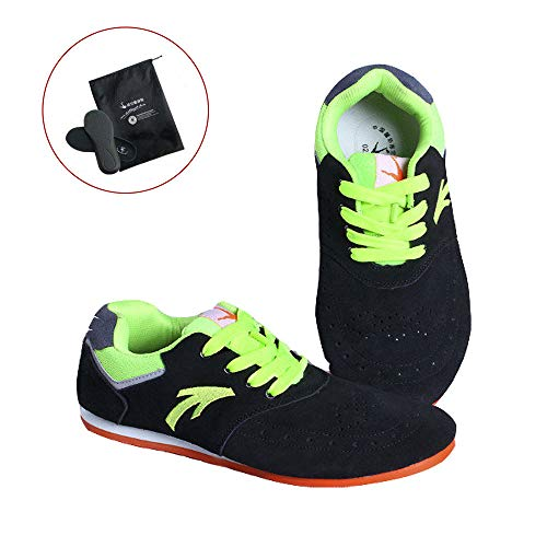 EDWRD Federballfeder Buntes Chinesisches Jianzi-Routinetraining Schuhe Für Wettkämpfe,Spiker-41